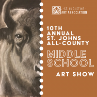 **10th Annual St. Johns All-County Middle School Art Show