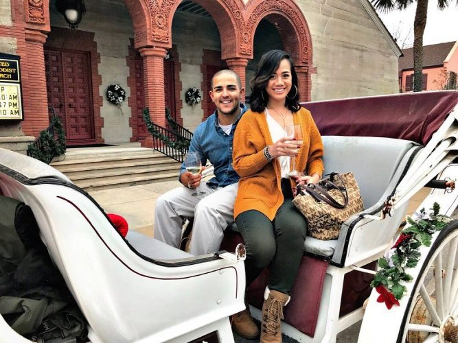 Private carriage rides around St Augustine