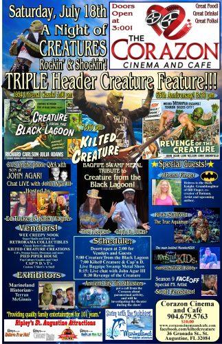 "Triple Header ""Creature Feature"""