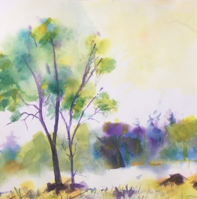 Simple and Delightful Watercolors with Elaine Berg...