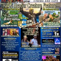 "Triple Header ""Creature Feature"""
