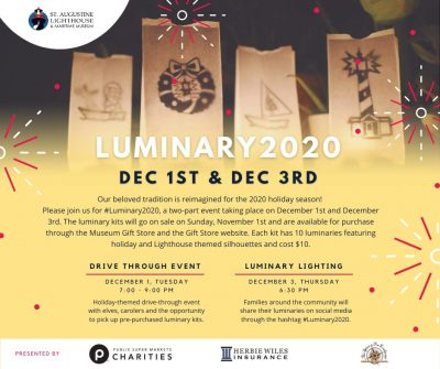 Luminary Night at the St. Augustine Lighthouse &am...