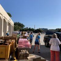 Farm Share Food Distribution Event