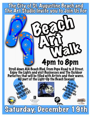 Beach Art Walk