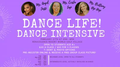 Dance Life Intensive Workshops - 8 to teen