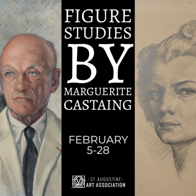 St. Augustine Art Association Permanent Collection: Figure Studies by Marguerite Castaing