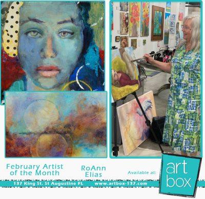 RoAnn Elias: Art Box's February Artist of the Month