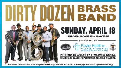 Dirty Dozen Brass Band at Nocatee | April 18, 2021
