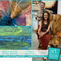 ArtBox's March Artists of the Month - Lisa Myers & Laura O'Neal