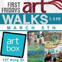 First Friday Art Walk at ArtBox