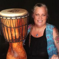 Lincolnville Courtyard Concert: Community Drumming with Amber Hall
