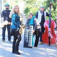 Lincolnville Courtyard Concert: Teal Cabana Club Band