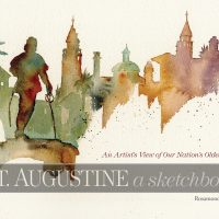 """Book Signing for Rosamond Parrish's """"St. Augustine a Sketchbook: An Artist's View of Our Nation's Oldest City"""""""