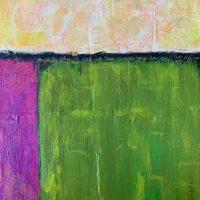 Abstract painter Cyndi Horn is Butterfield Garage's June Featured Artist