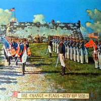 St. Johns County 200th Anniversary: Act of Transfer & Flag Exchange Ceremony