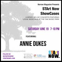 STArt Now Narrow Showcase Featuring Annie Dukes