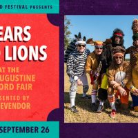 Sing Out Loud: Bears and Lions at St. Augustine Record Fair