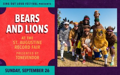 Sing Out Loud: Bears and Lions at St. Augustine Re...