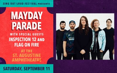 Sing Out Loud: Mayday Parade with guests Inspectio...