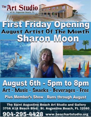 First Friday Featuring Sharon Moon