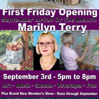 First Friday Featuring Marilyn Terry