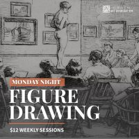 Monday Night Figure Drawing Sessions
