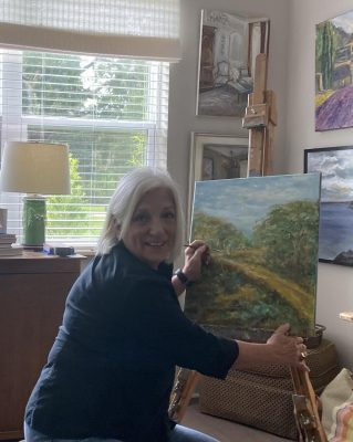 Ginny LeJeune is Featured Artist at P.A.St.A. Art Gallery