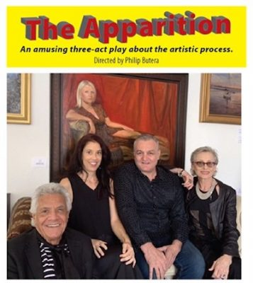 The Apparition: An Amusing Three-Act Play About th...