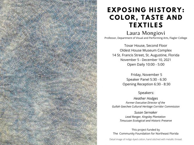 Exposing History: Color, Taste, and Textiles