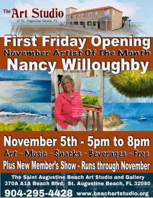 First Friday Featuring Nancy Willoughby
