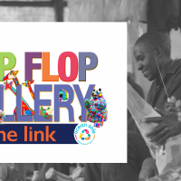 World's First Flip Flop Gallery and Fundraiser