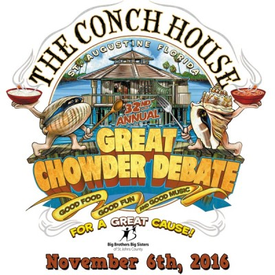33rd Annual 'Great Chowder Debate'  to benefit Big Brothers Big Sisters of St. Johns County