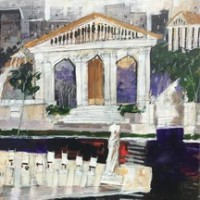Stellers Gallery Features Renowned Painters Laura Lacambra Shubert and Dennis Campay on April 24