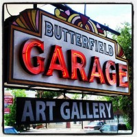 Butterfield Garage Gallery Featured Artist: Jan Miller, Founder of the Gallery.
